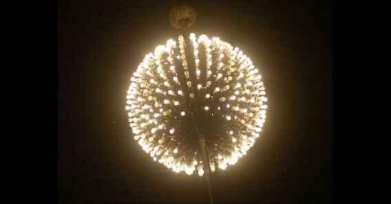 Ngắm nhìn Quả cầu Eve ở New York trước thềm năm mới