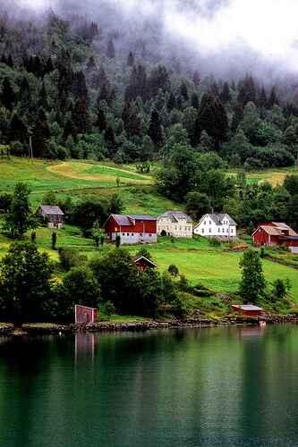 KinhNghiemDuLich.org  Những ngôi làng trong mơ ở Na Uy