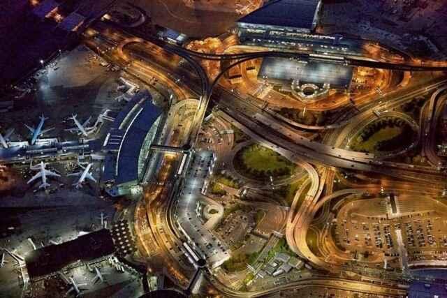 KinhNghiemDuLich.org  Hình ảnh các sân bay nhìn từ trên cao
