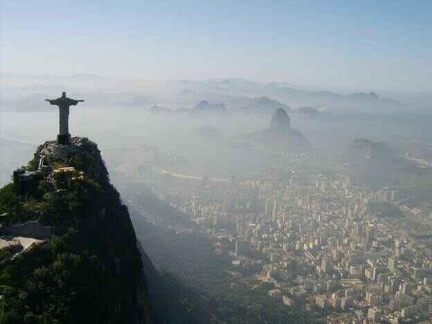 Du lịch bằng máy bay trực thăng tại Rio de Janeiro