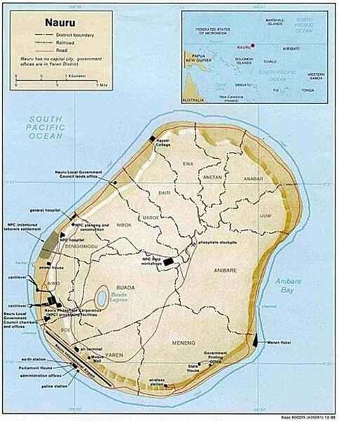 Nauru huyền bí – Ký sự biển xa  Kỳ 1: Đất nước có hình quả trứng