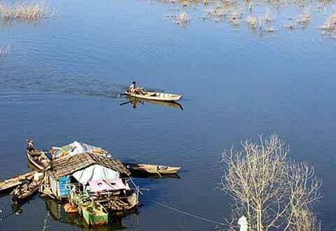 Thơ mộng hồ Đại Ninh
