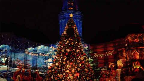 KinhNghiemDuLich.org   Đêm hội ánh sáng ở Rennes đón mừng năm mới 2013