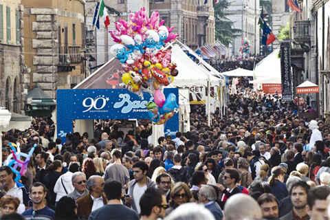 Eurochocolate - Lễ hội chocolate lớn nhất Italy