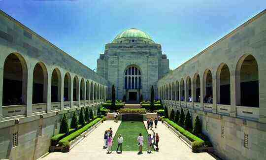 Khu tưởng niệm chiến tranh ở Canberra